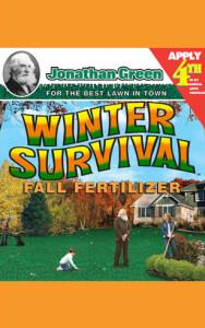Winter Survival Lawn Care - Jonathan Green